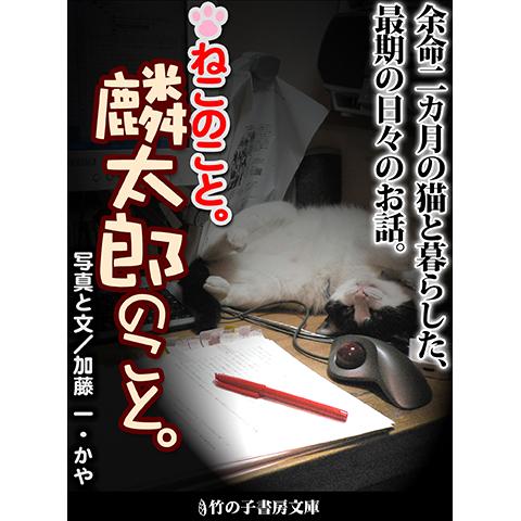 猫が好き。猫と一緒に暮らしている。ずっと一緒にいたい――。 人よりも短い生を生きる猫との最後の時間を、克明に綴ったプライベートストーリー。 余命二カ月の猫との最後の時間、あなたならどう過ごしますか? 【立ち読みサンプル】 […]